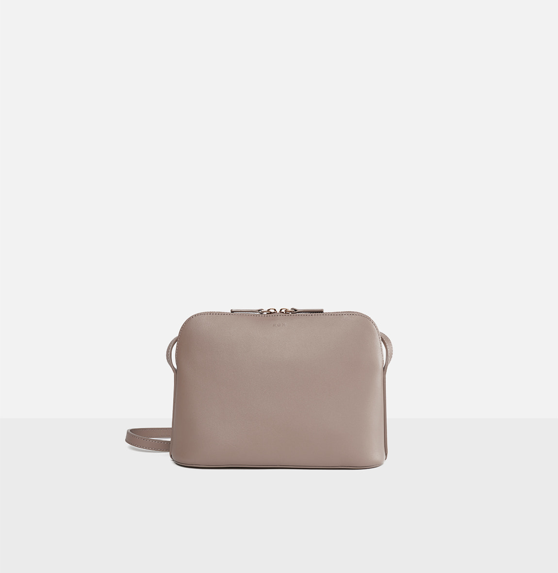 Around W medium shoulder bag Beige