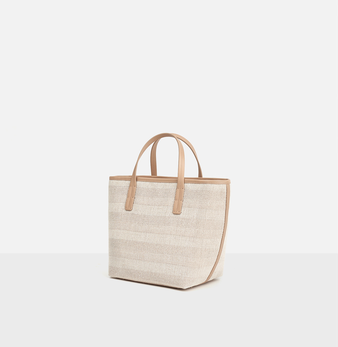 ROH Juty-line tote bag Light ocher