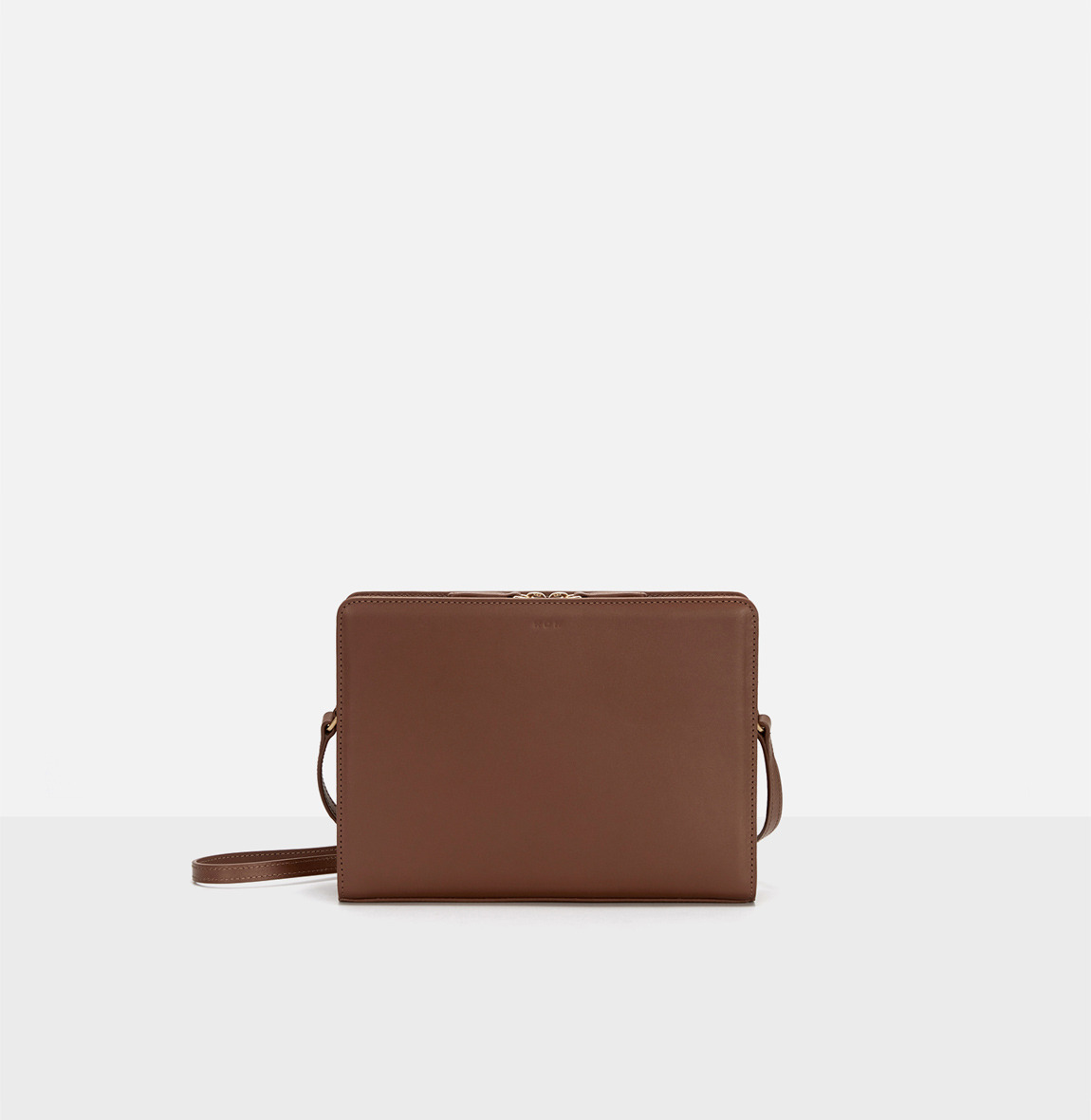 [19FW NEW] Square medium shoulder bag Smoky Tan