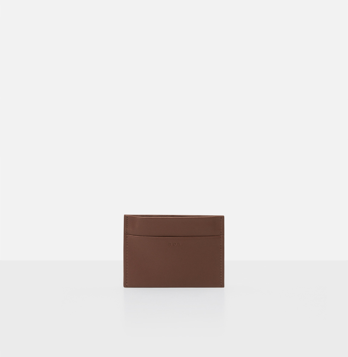 [19FW NEW] Square card wallet Smoky Tan