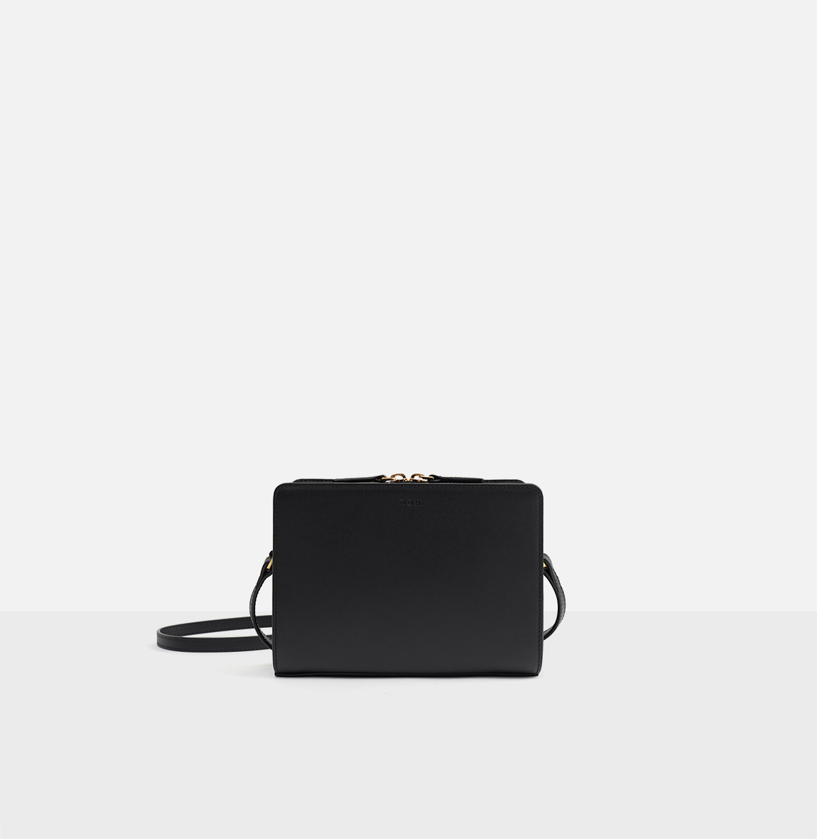[19FW NEW] Square small shoulder bag Black