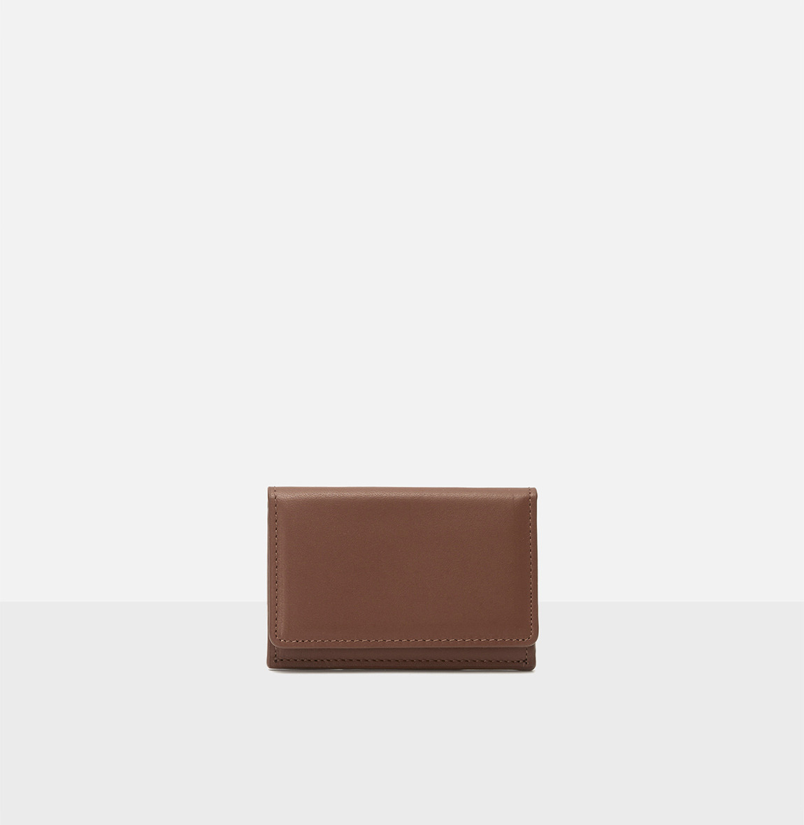 [19FW NEW] Pochette card wallet Smoky Tan