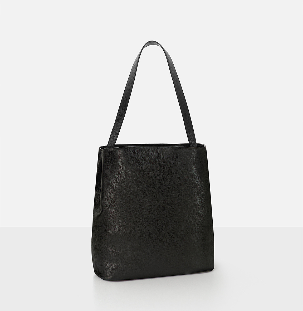[19FW NEW] Aline Large Shoulder bag Black Ople