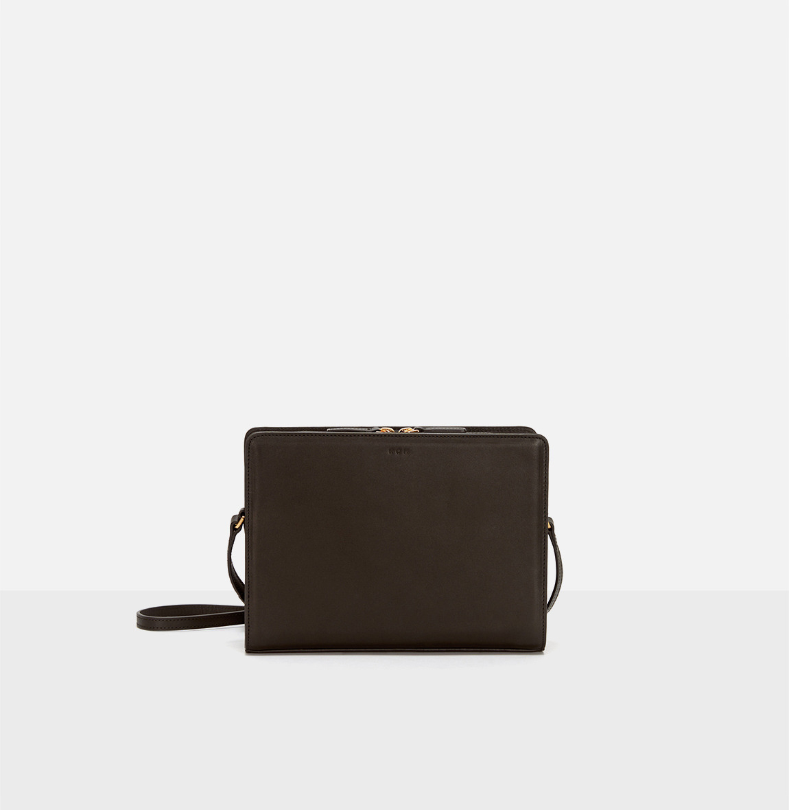 [19FW NEW] Square medium shoulder bag Umber