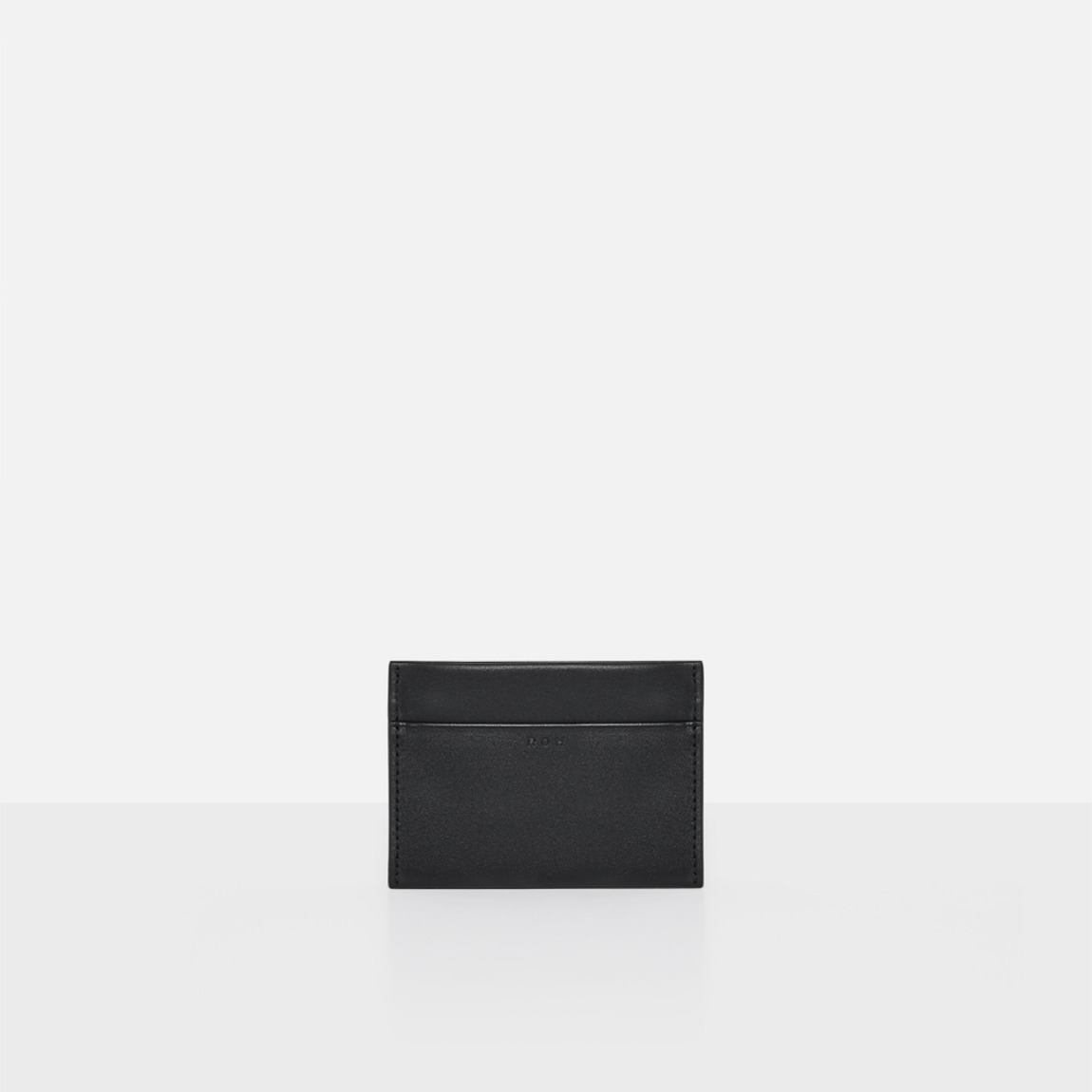 [19FW NEW] Square card wallet Black