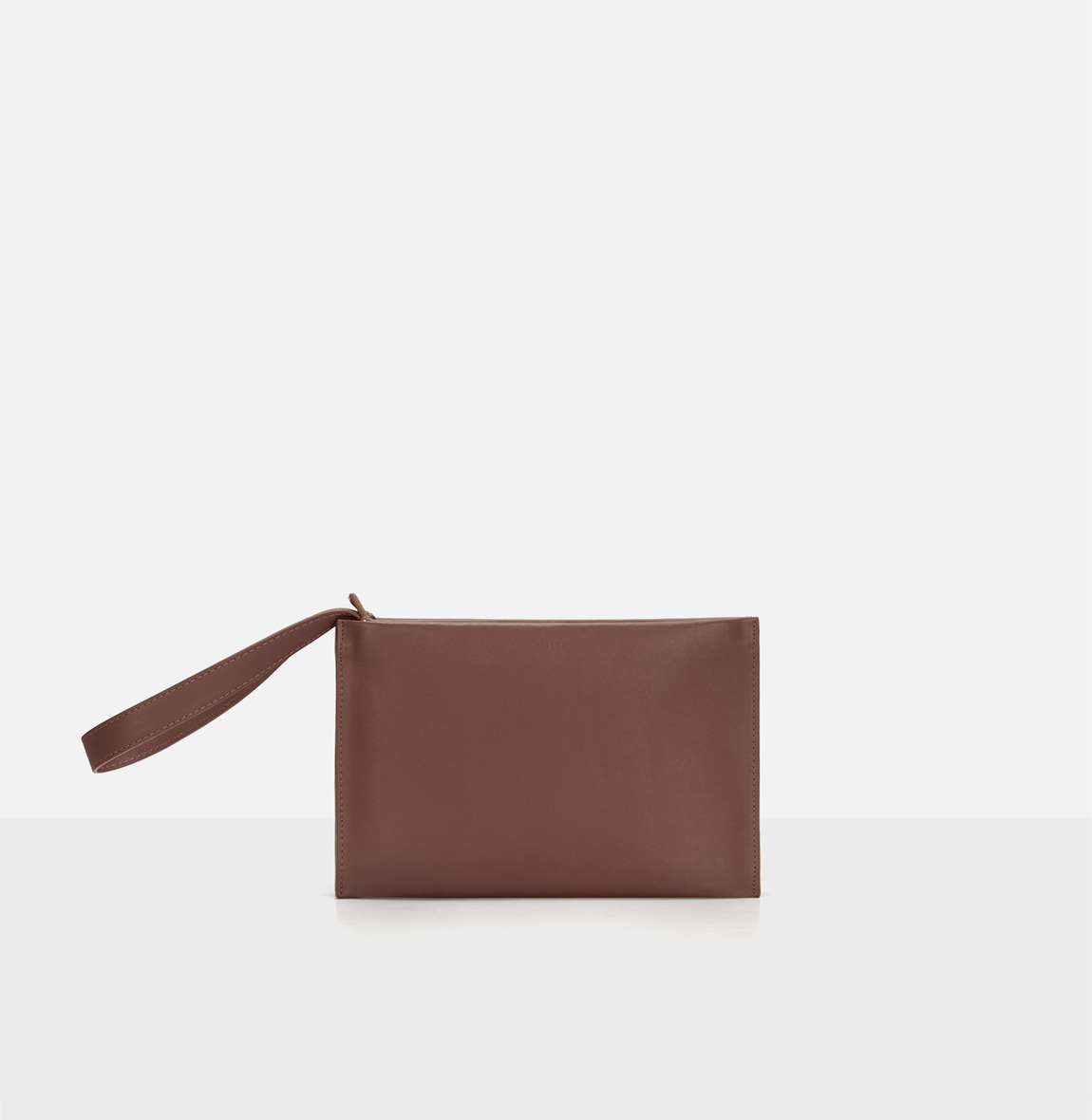 [19FW NEW] Double clutch bag Smoky Tan