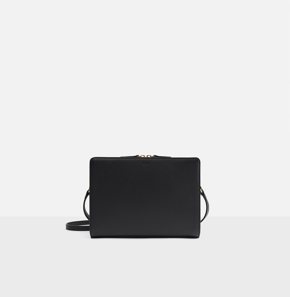 [19FW NEW] Square medium shoulder bag Black