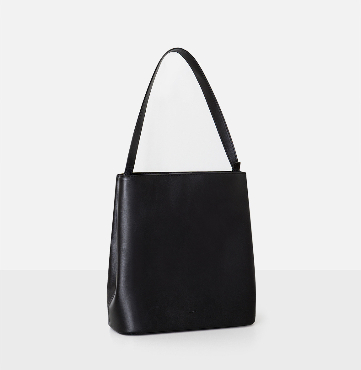 [19FW NEW] Aline Large Shoulder bag Black