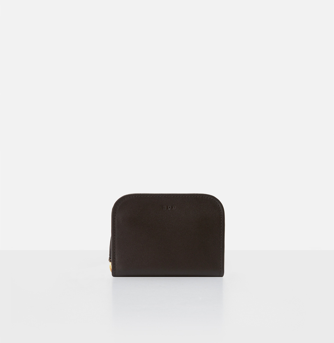 [19FW NEW] Around small zip wallet Umber