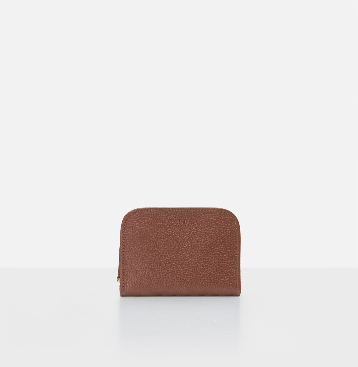 [19FW NEW] Around small zip wallet Smoky Tan Ople