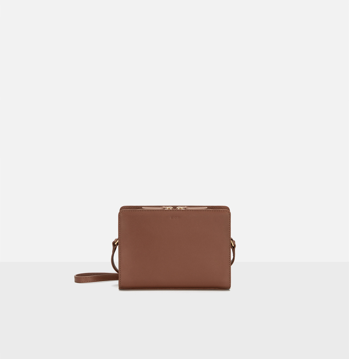 [19FW NEW] Square small shoulder bag Smoky Tan
