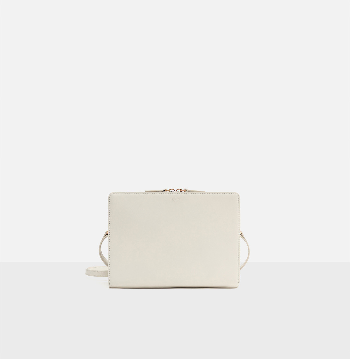 [20SS NEW]Square medium shoulder bag Ivory
