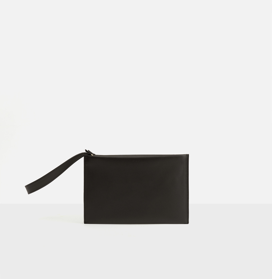 Double clutch bag Umber