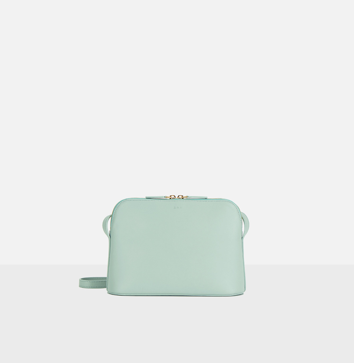 Around W medium shoulder bag Dusty Mint