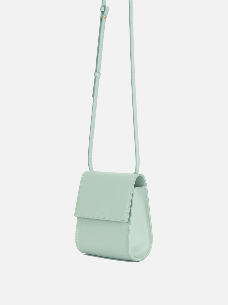 Pochette crossbody bag Dusty Mint