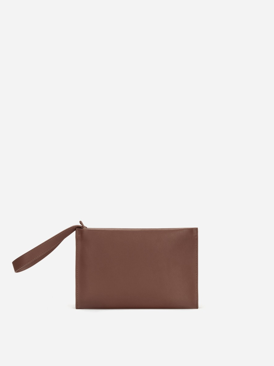 Double clutch bag Smoky Tan